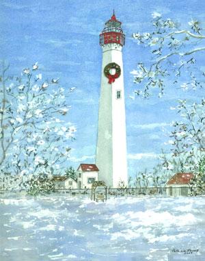 lighthouse-winter wwreath