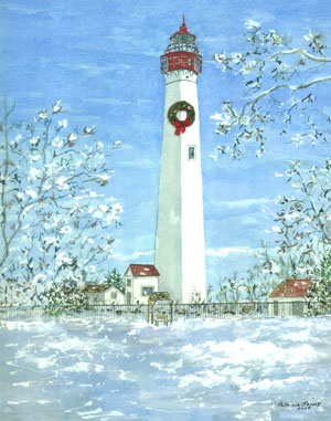 lighthouse-winter wwreath